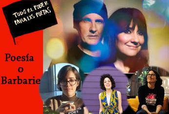Amaral, Beatriz Sevilla, Berta García Faet y Ana Pérez Cañamares en Poesía o Barbarie