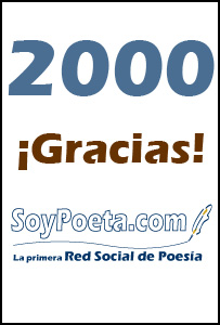 Ya somos 2.014 poetas en la Red Social de Poesía... y ¡vamos a por más!
