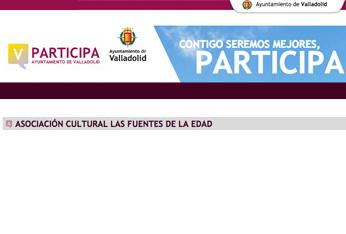 Asociación cultural Las Fuentes de la Edad, Valladolid