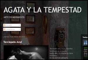 'Agata y la tempestad', blog de María Zuretti