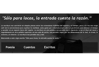 'Solo para locos, la entrada cuesta la razón', blog de Luigi D' Elia