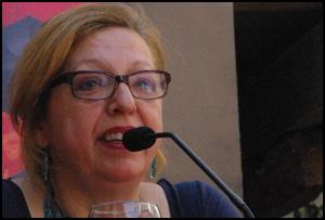 Matilde Cabello en Cosmopoética 2011