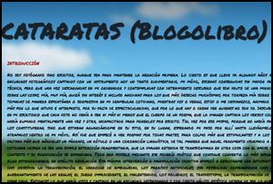 CATARATAS (Blogolibro)