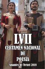 LVII Certamen Nacional de Poesía en Honor a los Amantes de Teruel (Premio Poesía Joven), 2018