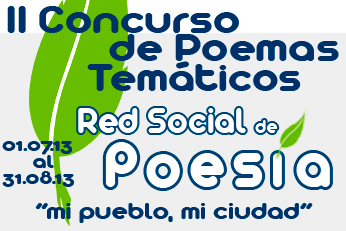 II Concurso de Poemas Temáticos Red Social de Poesía:
