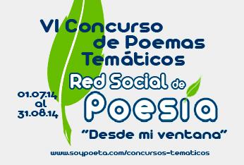 VI Concurso de Poemas Temáticos Red Social de Poesía: