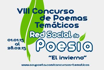 VIII Concurso de Poemas Temáticos Red Social de Poesía: