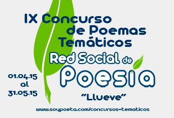 IX Concurso de Poemas Temáticos Red Social de Poesía: