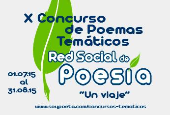 X Concurso de Poemas Temáticos Red Social de Poesía: