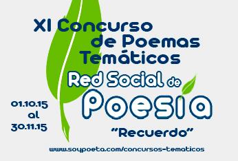 XI Concurso de Poemas Temáticos Red Social de Poesía: