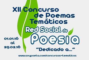 XII Concurso de Poemas Temáticos Red Social de Poesía: