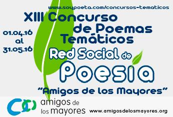 Descárgate el calendario de Amigos de los Mayores 2017, con poemas de la Red Social de Poesía