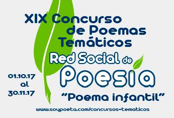 XIX Concurso de Poemas Temáticos Red Social de Poesía:
