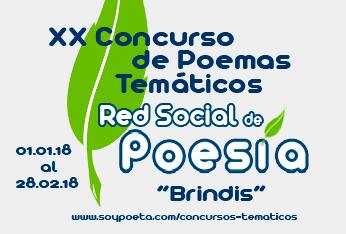 XX Concurso de Poemas Temáticos Red Social de Poesía: