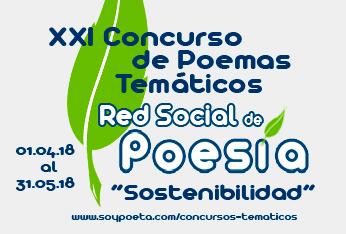 Johan Cladheart y Roxana Andrea Vasquez, ganadores del XXI Concurso de Poemas Temáticos Red Social de Poesía: