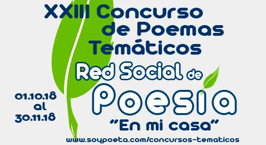 Milagros Piedra Iglesias y Daniele Guaratto, ganadores del XXIII Concurso de Poemas Temáticos Red Social de Poesía: