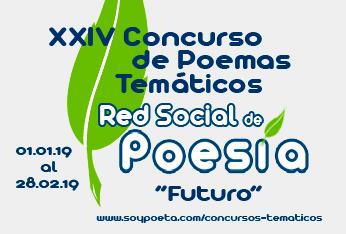 Miriam Sánchez Manzano y José de Jesús Camacho Medina, ganadores del XXIV Concurso de Poemas Temáticos Red Social de Poesia: