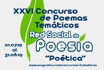 Hasta el 14 de septiembre puedes votar los poemas del XXVI Concurso de Poemas Temáticos Red Social de Poesía