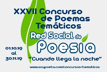 José Miguel Fungueiriño y José de Jesús Camacho, ganadores del XXVII Concurso de Poemas Temáticos Red Social de Poesía