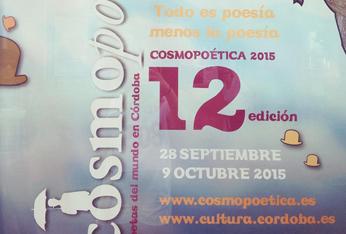 XII Cosmopoética, poetas del mundo en Córdoba, 2015