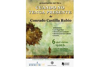 Conrado Castilla Rubio presenta su poemario 'Cuando no tenga presente'
