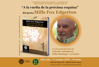 El poeta Mills Fox Edgerton presenta