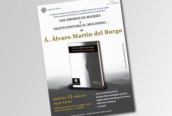 El poeta Á. Álvaro Martín del Burgo presenta
