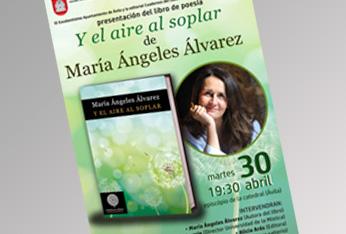 María Ángeles Álvarez presenta su poemario