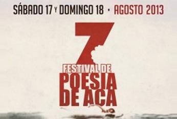 VII Festival de Poesía de Acá, Mar del Plata, Argentina, 2013
