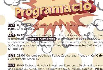 I Festival de Poesía de Benimaclet, 2016