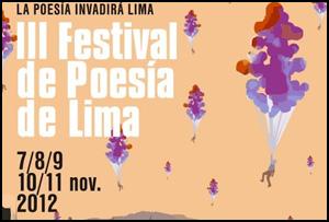 III Festival de Poesía de Lima, 2012