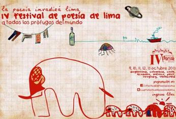 IV Festival de Poesía de Lima, 2013