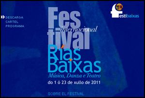I Festival Rías Baixas, 2011
