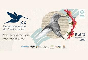 XX Festival Internacional de Poesía de Cali, 2020
