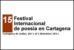 XV Festival Internacional de Poesía de Cartagena de Indias, Colombia