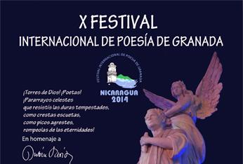 X Festival Internacional de Poesía de Granada, Nicaragua, 2014