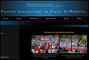 XXII Festival Internacional de Poesía de Medellín, Colombia, 2012