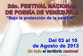 II Festival Nacional de Poesía de Venezuela, 2013