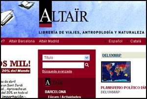 Librería Altaïr Madrid