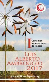 I Certamen internacional de poesía Luis Alberto Ambroggio, 2017