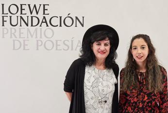 La poeta Aurora Luque, ganadora del XXXII Premio de Poesía Loewe