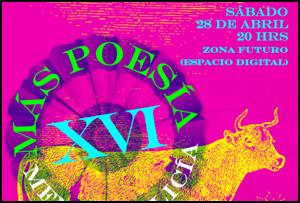 XVI Festival de poesía 'Más poesía menos policía', 2012