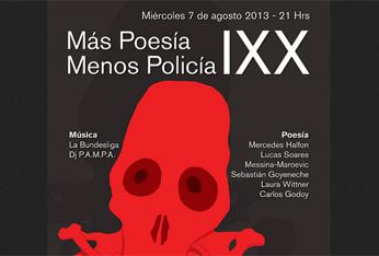 IXX Festival de poesía 'Más Poesía Menos Policía', 2013