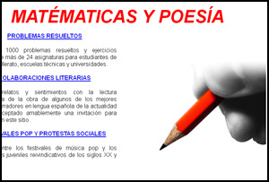 Matematicas y Poesía