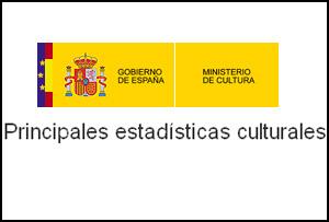 Principales estadísticas culturales