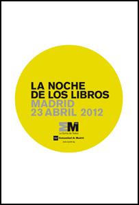 Agenda para 'La Noche de los Libros' el 23 de abril