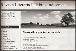 Revista Literaria Palabras Indiscretas (RLPI)