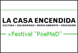Comienza PoeMad, Festival de Poesía de Madrid, con un cartel impresionante