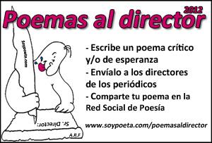 'Poemas al director': inundemos los periódicos de poesía crítica y solidaria