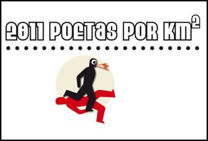2011 Poetas por km². Poético Festival. Brasil